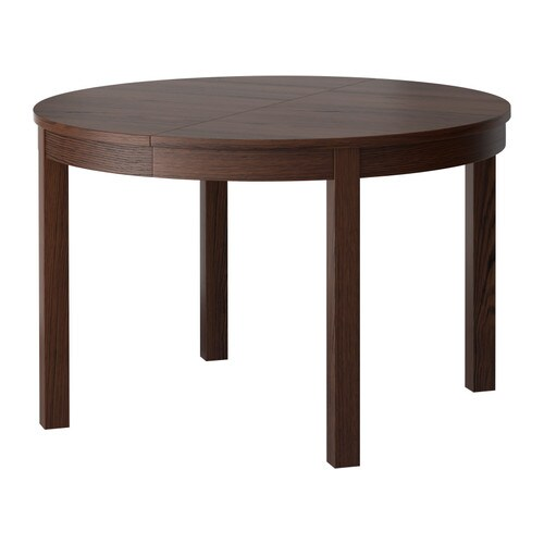 BJURSTA Extendable table   One extension leaf included.