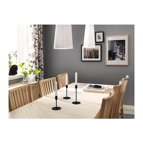 BJURSTA Extendable table brown black IKEA