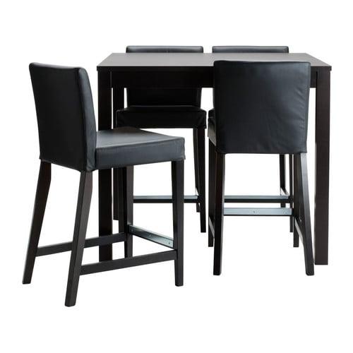 Bjursta Henriksdal Bar Table And 4 Stools