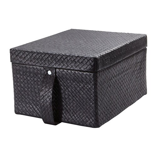 BLADIS Box with lid   Suitable for storing your DVDs, games, chargers, remote controls or desk accessories.