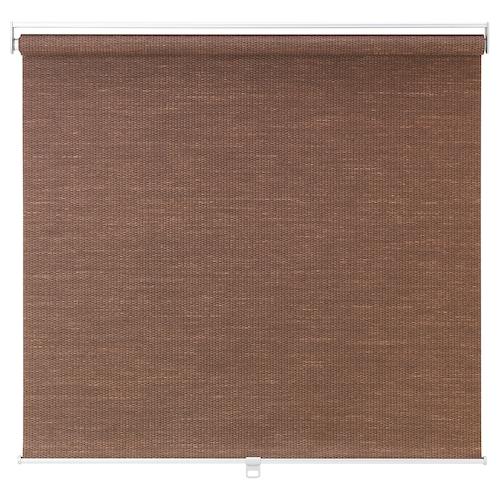 """BLEKING roller blind red-brown 37 """" 38 """" 76 ¾ """" 19.59 sq feet"""