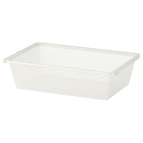 """BOAXEL mesh basket white 13 lb 5 7/8 """" 15 3/4 """" 23 5/8 """""""