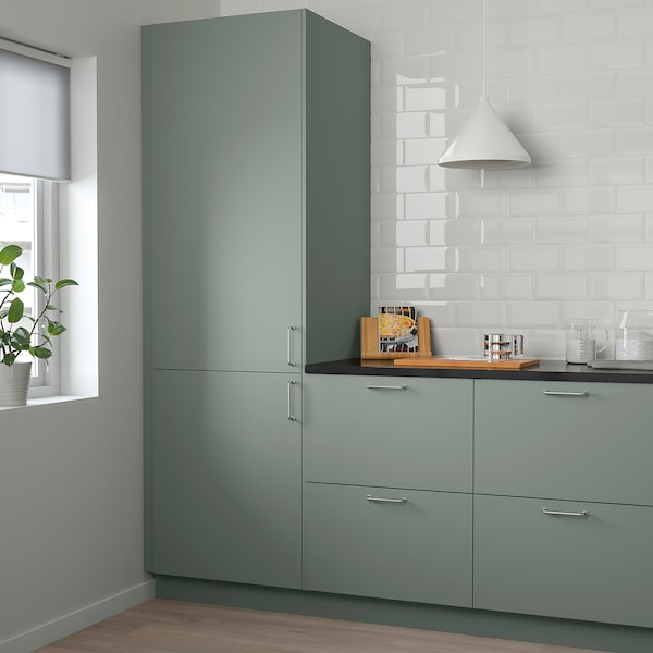 """BODARP door gray-green 14 7/8 """" 30 """" 15 """" 29 7/8 """" 5/8 """""""