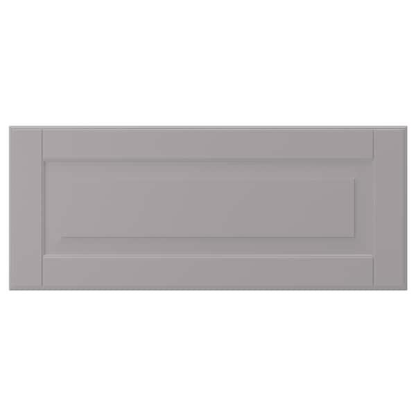 """BODBYN Drawer front, gray, 24x10 """""""