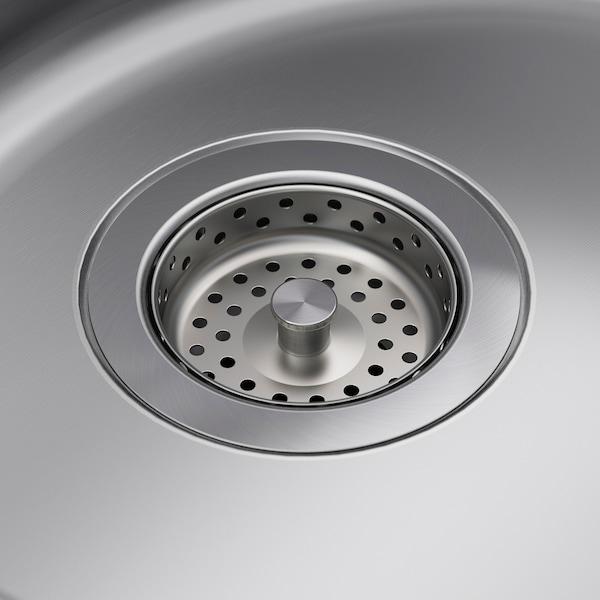 "BOHOLMEN Sink, stainless steel, 17 3/4x5 7/8 """