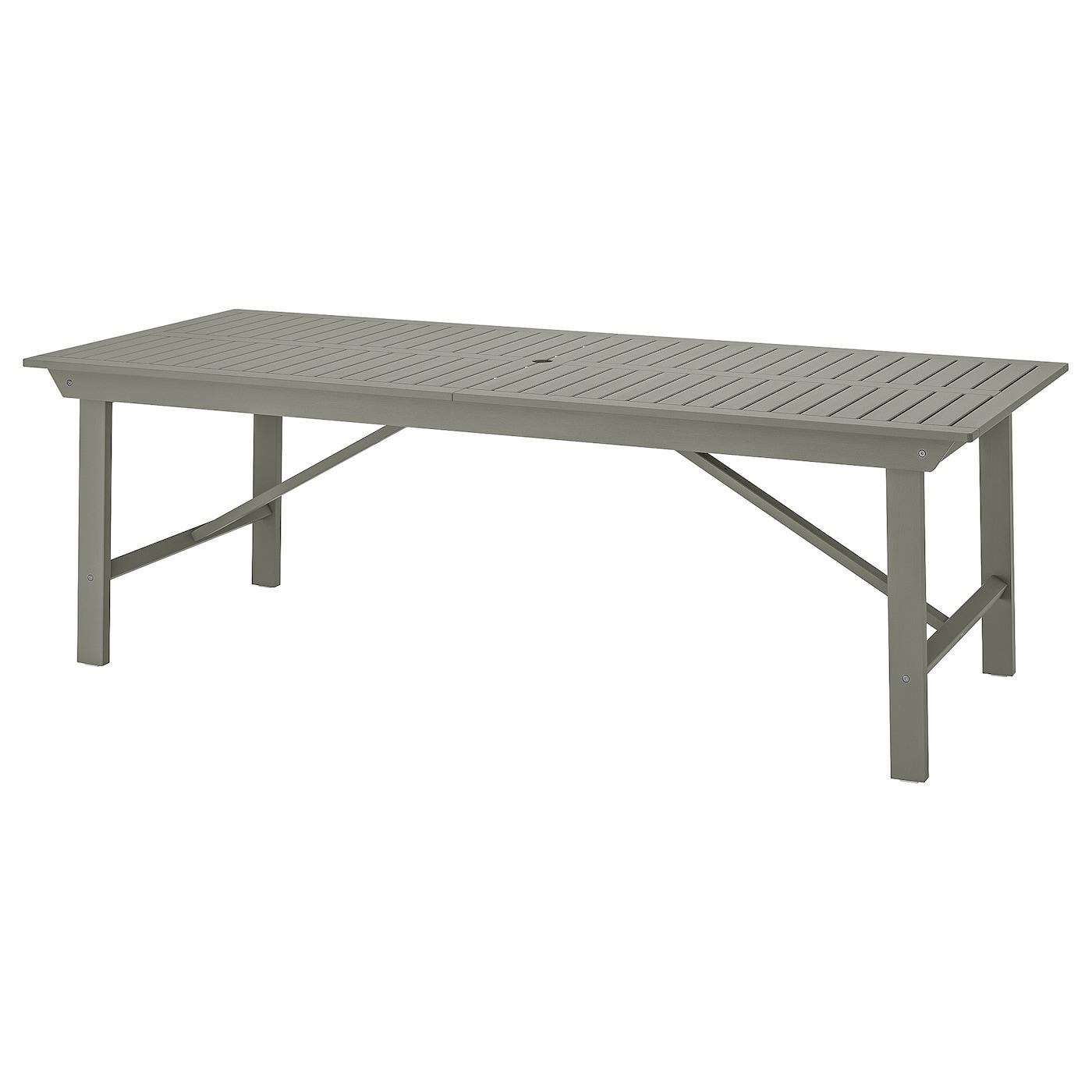 """BONDHOLMEN Table, outdoor - gray 11212 112/12x12 12/12 """" (1212x12 cm)"""