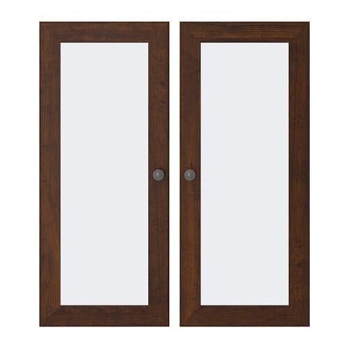 BORGSJÖ Glass door The door39;s integrated dampers enable it to close