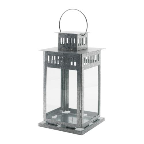 BORRBY Lantern for block candle   Suitable for both indoor and outdoor use.