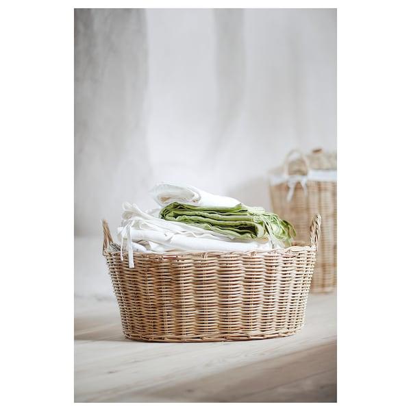 "BORSTAD basket with handles 23 ½ "" 18 ½ "" 13 ½ """