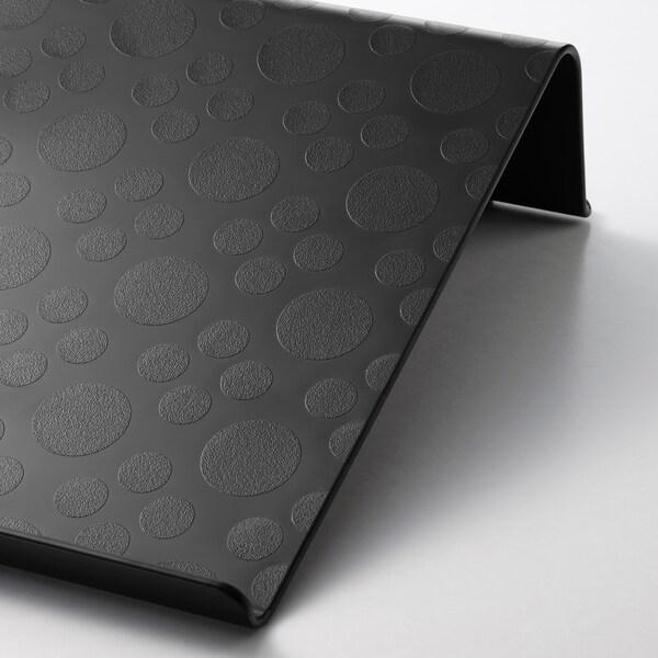 "BRÄDA Laptop support, black, 16 1/2x12 1/4 """