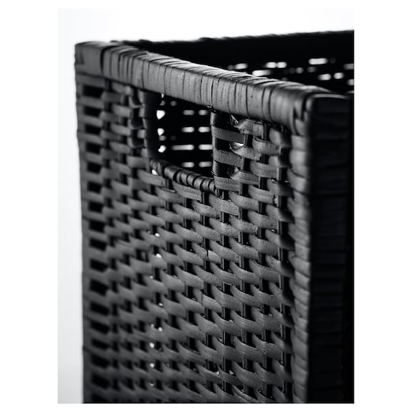 BRANÄS Basket, dark gray, 12 ½x13 ½x12 ½ ""