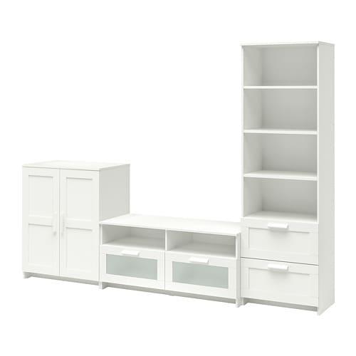 Ikea Tagesbett Brimnes : brimnes tv storage combination white ikea ~ Watch28wear.com Haus und Dekorationen