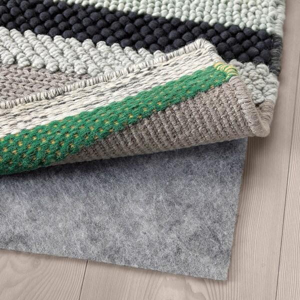 "BRÖNDEN Rug, low pile, handmade multicolor, 5 ' 7 ""x7 ' 10 """