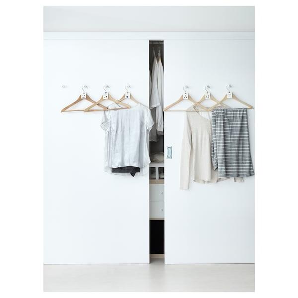 "BUMERANG hanger natural 16 7/8 "" 9/16 "" 8 pack"