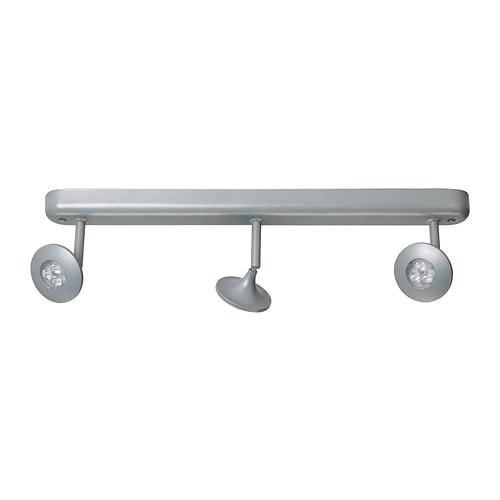 centigrad led ceiling track 3 spots ikea. Black Bedroom Furniture Sets. Home Design Ideas