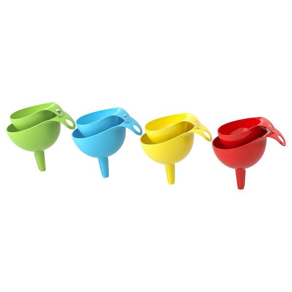 CHOSIGT Funnel, set of 2, assorted colors