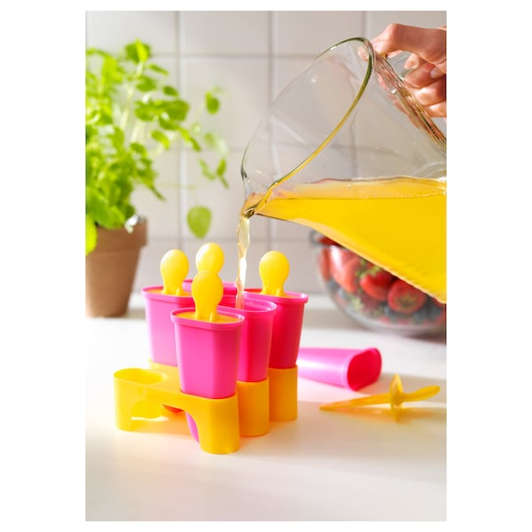 "CHOSIGT ice pop maker assorted colors 4 """