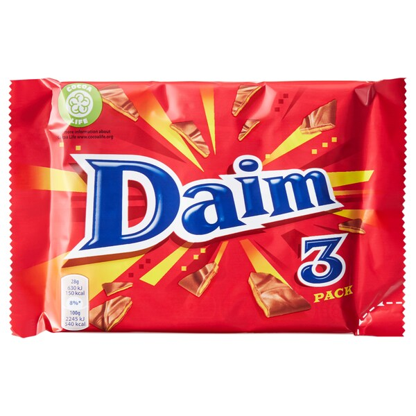 DAIM Milk chocolate with caramel