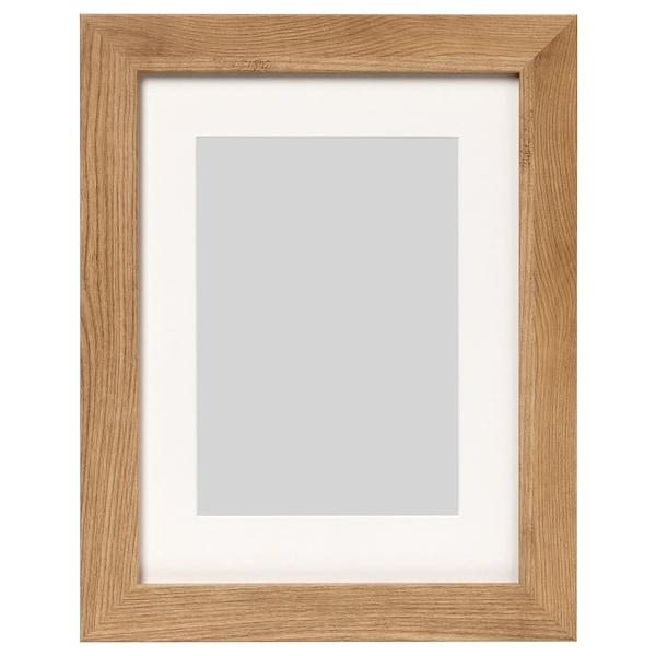 """DALSKÄRR frame wood effect/light brown 12 """" 16 """" 8 """" 10 """" 7 """" 9 """" 15 """" 19 """""""
