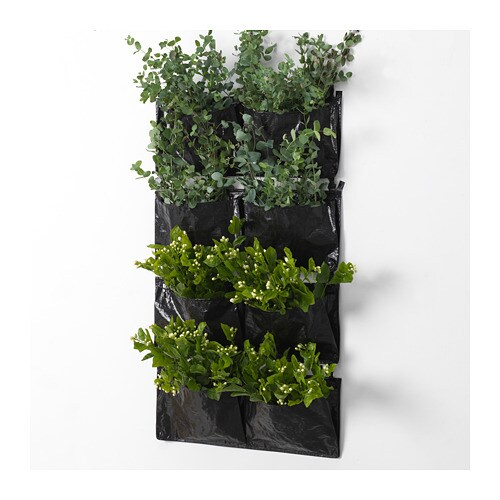 Wall Hanging Planter dillblad wall hanging planter with 2 pockets - ikea