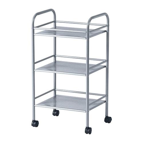 DRAGGAN Cart, silver color