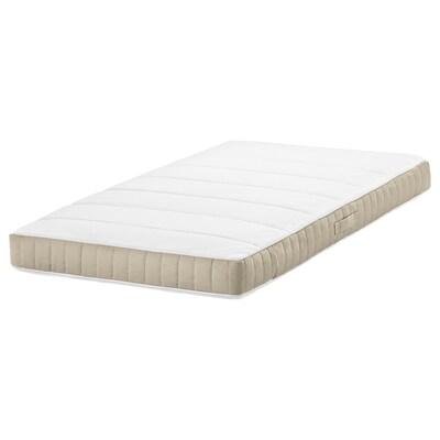"""DRÖMMANDE Pocket spring mattress for crib, 27 1/2x52x4 3/8 """""""