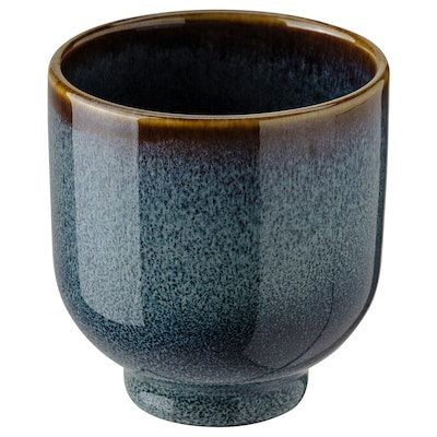"""DRÖMSK Plant pot, indoor/outdoor dark blue, 2 ¼ """""""
