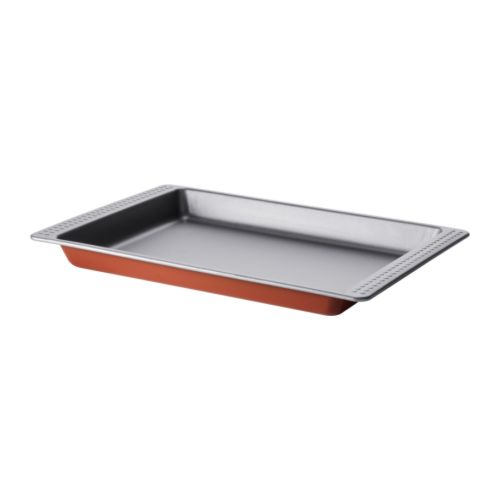 DRÖMMAR Baking pan   The Teflon®Classic non-stick coating releases food and pastries easily.
