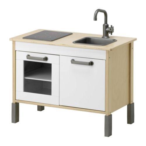 DUKTIG Mini-kitchen   Encourages role play; children develop social skills by imitating grown-ups and inventing their own roles.