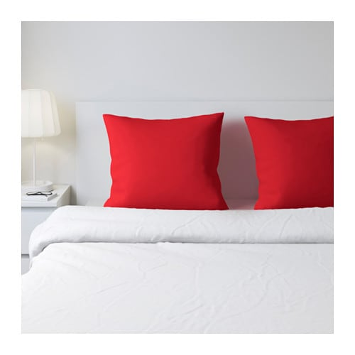 DVALA Pillowcase   Cotton feels soft and nice against your skin.