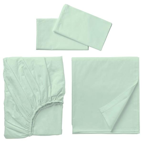 DVALA Sheet set, light green, Queen