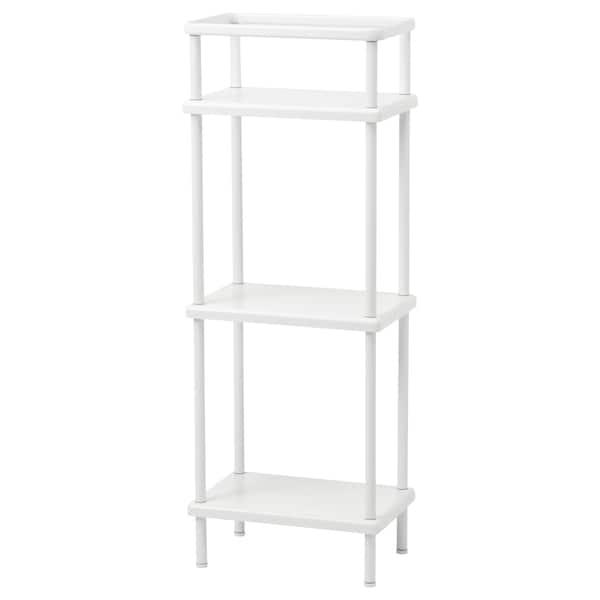 IKEA DYNAN Shelf unit with towel rail