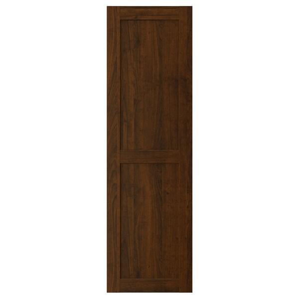 """EDSERUM door wood effect brown 17 7/8 """" 60 """" 18 """" 59 7/8 """" 3/4 """""""