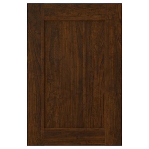 """EDSERUM door wood effect brown 14 7/8 """" 20 """" 15 """" 19 7/8 """" 3/4 """""""