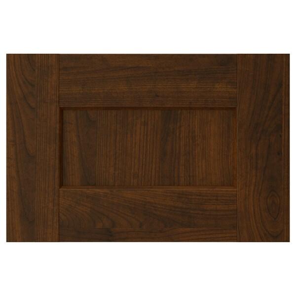 "EDSERUM Drawer front, wood effect brown, 15x10 """