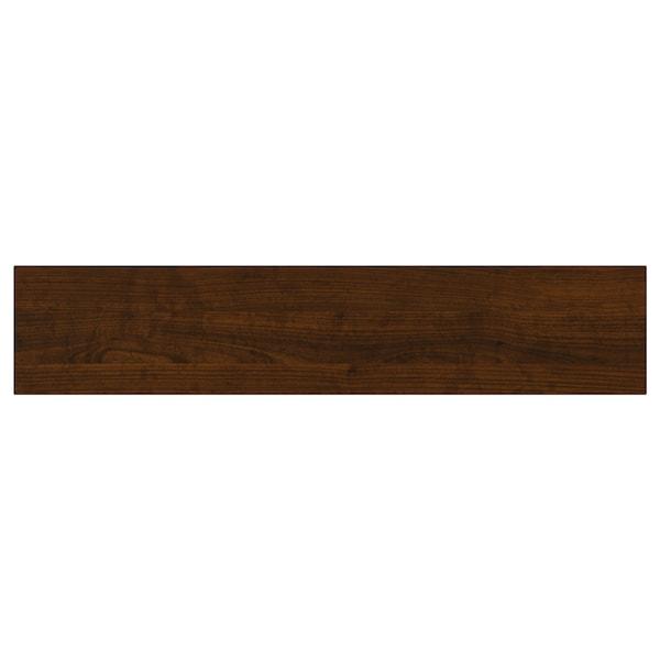 "EDSERUM Drawer front, wood effect brown, 24x5 """