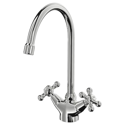 EDSVIK Dual-control kitchen faucet, chrome plated