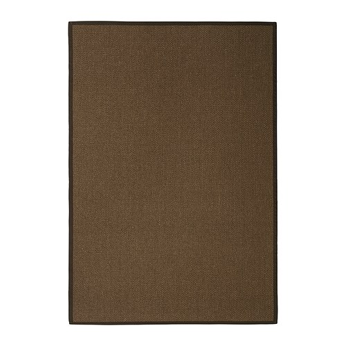 EGEBY Rug, flatwoven   The rug is extra hard-wearing and durable because it's made of sisal, a natural fiber taken from the agave plant.