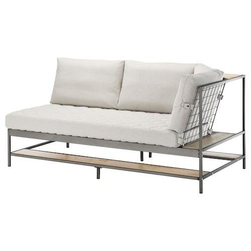 """EKEBOL sofa Katorp natural 70 7/8 """" 36 1/4 """" 34 5/8 """" 4 3/4 """" 31 1/2 """" 61 3/4 """" 26 3/4 """" 18 1/8 """" 3 pack"""