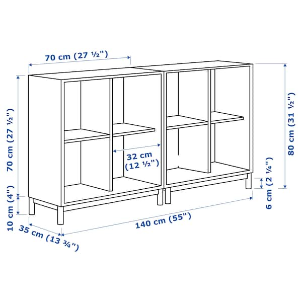 IKEA EKET Storage combination with legs