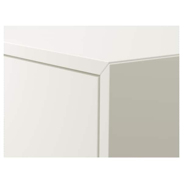 """EKET cabinet with 2 drawers white 27 1/2 """" 13 3/4 """" 13 3/4 """" 24 13/16 """" 11 """" 7 lb"""