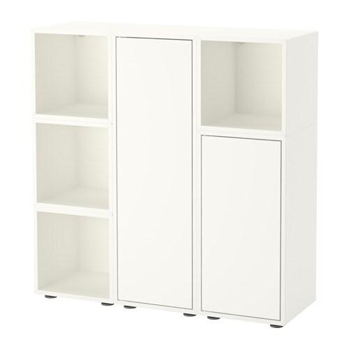 Eket Storage Combination With Feet White Ikea