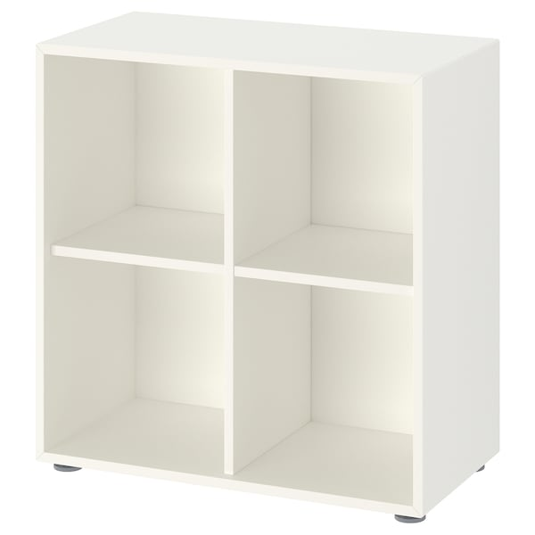 EKET Storage combination with feet, white, 27 1/2x13 3/4x28 3/8 ""
