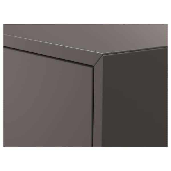 "EKET Wall-mounted cabinet combination, dark gray, 13 3/4x13 3/4x13 3/4 """