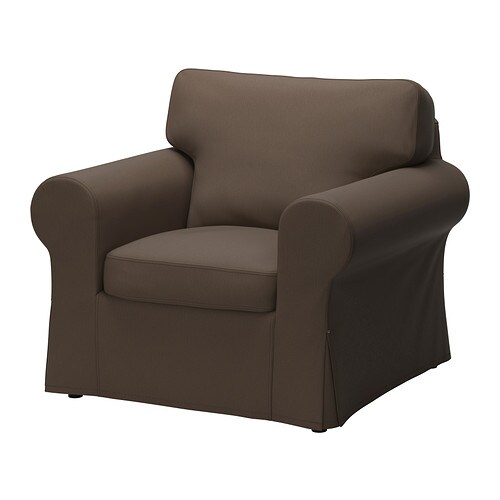 EKTORP Armchair cover   The cover is easy to keep clean as it is removable and can be machine washed.
