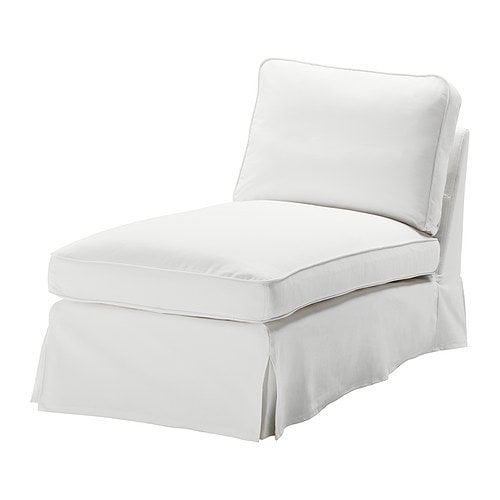 EKTORP Cover free-standing chaise lounge   Easy to keep clean with a removable,machine washable cover.