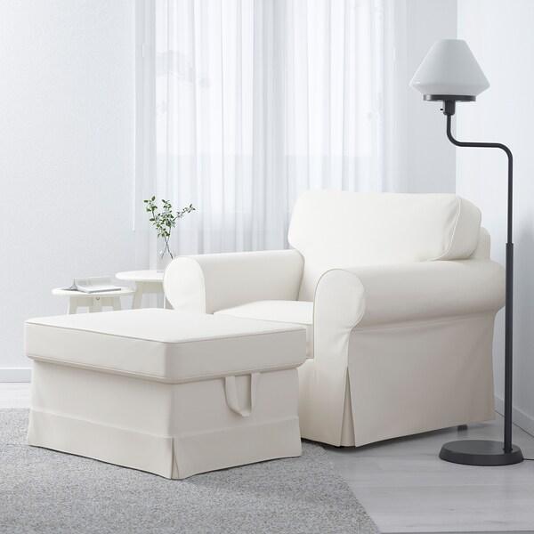 """EKTORP footstool Vittaryd white 32 1/4 """" 24 3/8 """" 17 3/8 """""""