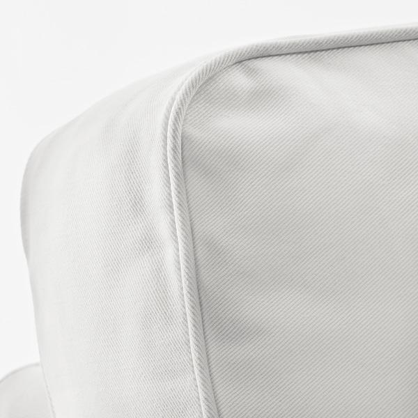 """EKTORP sofa Vittaryd white 85 7/8 """" 34 5/8 """" 34 5/8 """" 19 1/4 """" 17 3/4 """""""