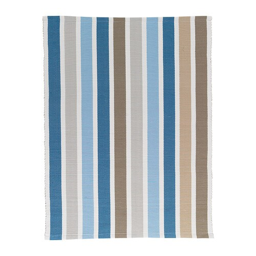 EMMIE Rug, flatwoven   The rug is hand-woven by skilled craftspeople and adds a personal touch to your room.