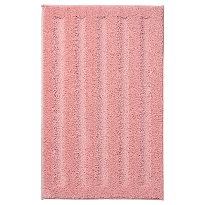 EMTEN Bath mat, light pink, 20x32 ""